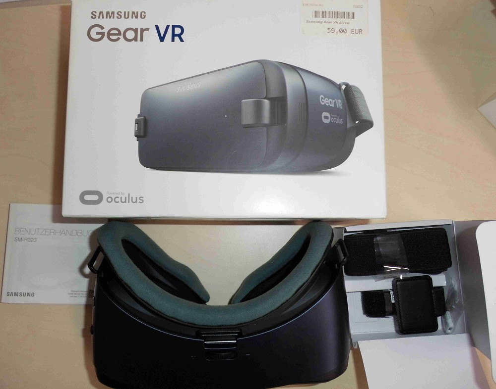 Artikelbild Samsung Gear VR blau/schwarz